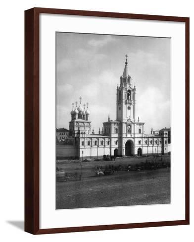 Strastnoy Monastery, Moscow, Russia, 1881- Scherer Nabholz & Co-Framed Art Print
