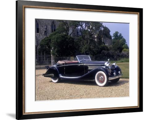 1937 Hispano-Suiza K6--Framed Art Print