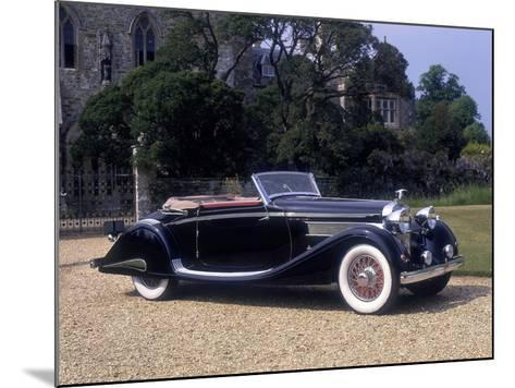 1937 Hispano-Suiza K6--Mounted Photographic Print
