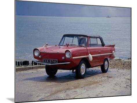 A 1965 Amphicar at the Water's Edge--Mounted Photographic Print