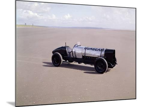 A 1920 350Hp Sunbeam, Pendine Sands, Wales--Mounted Photographic Print
