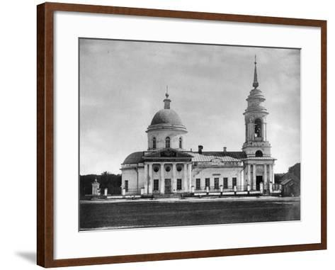 Church of the Holy Fathers of the Seventh Ecumenical Council, Moscow, Russia, 1882- Scherer Nabholz & Co-Framed Art Print