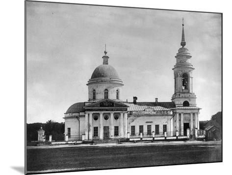 Church of the Holy Fathers of the Seventh Ecumenical Council, Moscow, Russia, 1882- Scherer Nabholz & Co-Mounted Photographic Print