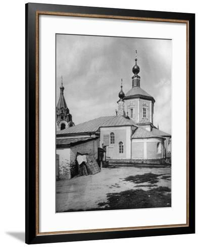 Church of St Stephen the Protomartyr, Beside the Yauza River, Moscow, Russia, 1881- Scherer Nabholz & Co-Framed Art Print