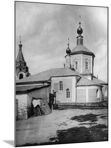 Church of St Stephen the Protomartyr, Beside the Yauza River, Moscow, Russia, 1881- Scherer Nabholz & Co-Mounted Photographic Print