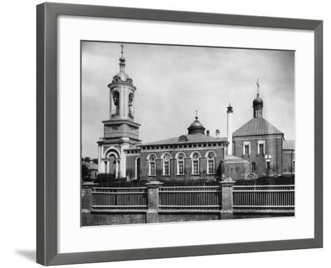Church of Saint John the Forerunner, Presnya, Moscow, Russia, 1881- Scherer Nabholz & Co-Framed Art Print