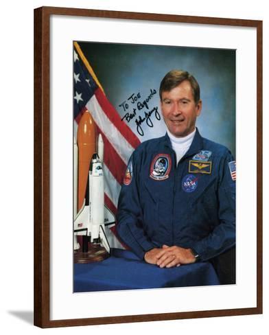 John Watts Young, NASA Astronaut, C1990s--Framed Art Print