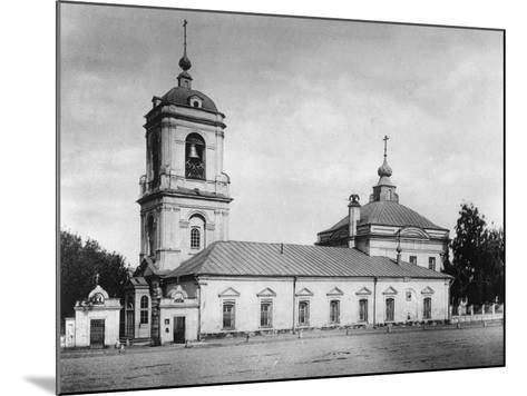 Church of the Transfiguration of the Saviour, Preobrazhenskoye, Moscow, Russia, 1882- Scherer Nabholz & Co-Mounted Photographic Print