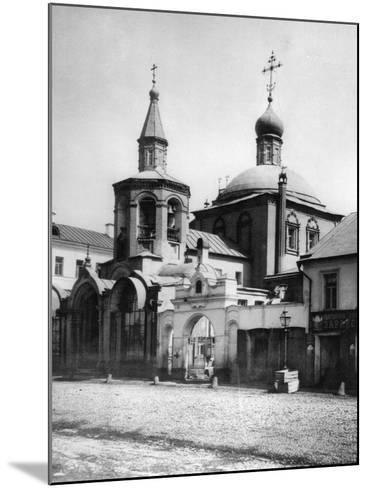 Church of St George the Victorious, Old Luchniki, Moscow, USSR, 1881- Scherer Nabholz & Co-Mounted Photographic Print