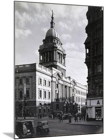 Old Bailey, Central Criminal Court, London, C1941--Mounted Photographic Print