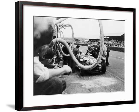 Delahaye 175S in the Pits, Le Mans, France, 1951--Framed Art Print