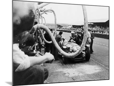 Delahaye 175S in the Pits, Le Mans, France, 1951--Mounted Photographic Print