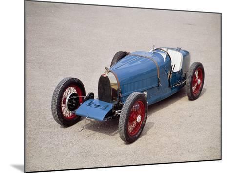 A 1924 Bugatti Type 35--Mounted Photographic Print