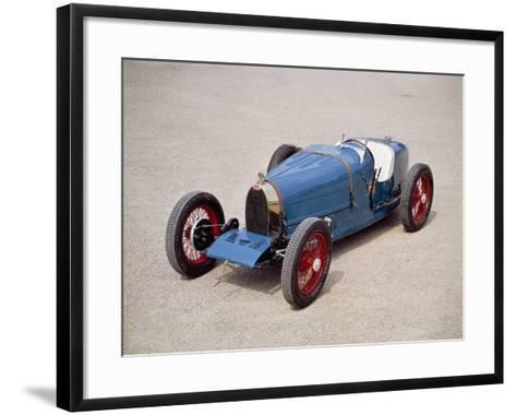 A 1924 Bugatti Type 35--Framed Art Print