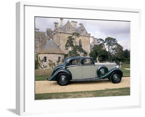 A 1938 Rolls-Royce Phantom III--Framed Art Print