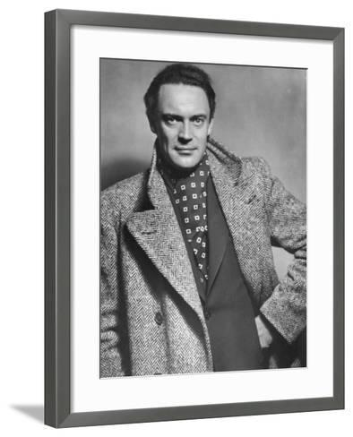 Gustav Diessl, Austrian Artist, and Film and Stage Actor, 20th Century- Sandau-Framed Art Print