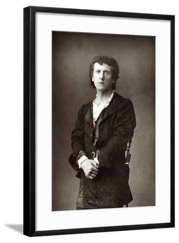 Wilson Barrett (1846-190), English Theatrical Actor-Manager, C1890--Framed Art Print