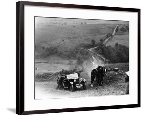 Riley 9, Yorkshire, Late 1920s--Framed Art Print