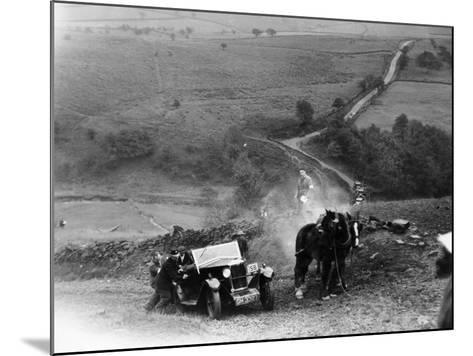 Riley 9, Yorkshire, Late 1920s--Mounted Photographic Print