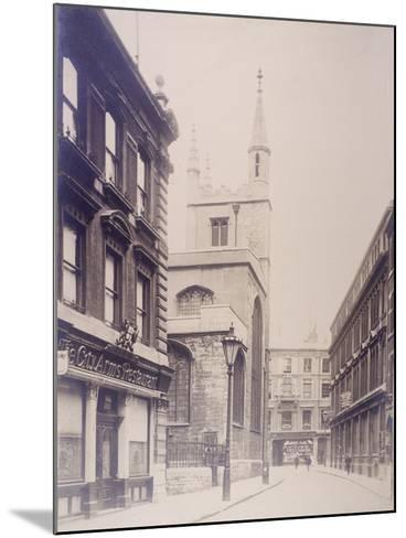 St Mary Axe and St Andrew Undershaft, London, 1911--Mounted Photographic Print