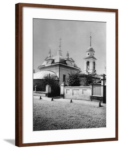 Church of the Resurrection of Christ, Bronnaya, Moscow, Russia, 1881- Scherer Nabholz & Co-Framed Art Print