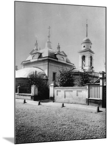 Church of the Resurrection of Christ, Bronnaya, Moscow, Russia, 1881- Scherer Nabholz & Co-Mounted Photographic Print
