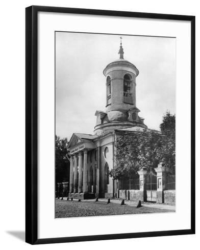 Church of the Holy Martyr Theodore Stratelates, Moscow, Russia, 1881- Scherer Nabholz & Co-Framed Art Print