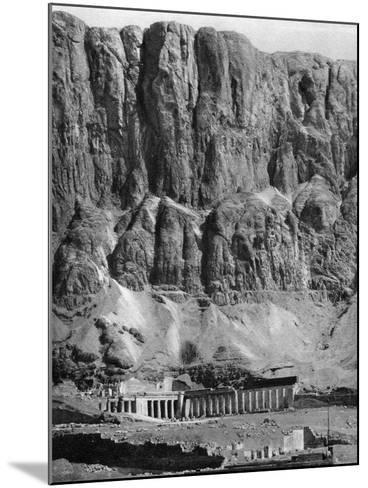 The Temple of Deir-El-Bahari, Egypt, 1936--Mounted Photographic Print