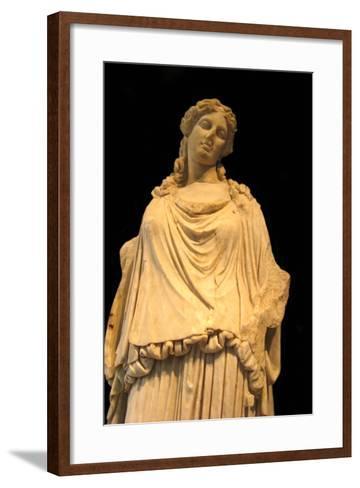 Eirene, the Godess of Peace (Roman Copy from a Greek Origina), 1st H. 1st C Ad--Framed Art Print