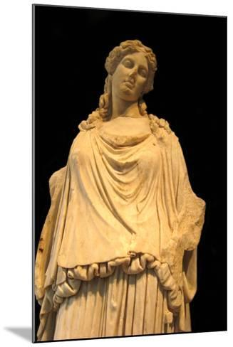 Eirene, the Godess of Peace (Roman Copy from a Greek Origina), 1st H. 1st C Ad--Mounted Photographic Print