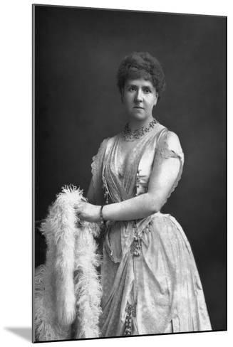 Anna Williams, Singer, 1890-W&d Downey-Mounted Photographic Print