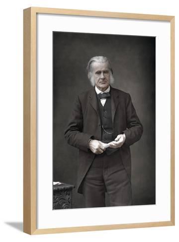 Thomas Henry Huxley (1825-189), English Biologist, 1890-W&d Downey-Framed Art Print