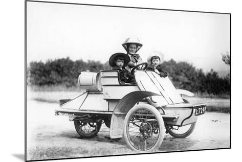 1905 Rexette 5 Hp Tricar, (C1905)--Mounted Photographic Print