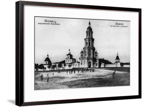 Monastery of St Andronicus, Moscow, Russia, 1900s- Scherer Nabholz & Co-Framed Art Print