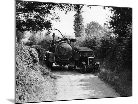 Bedford Truck with Jowett, 1920S--Mounted Photographic Print