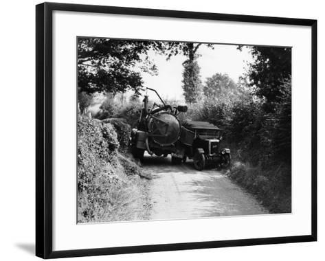 Bedford Truck with Jowett, 1920S--Framed Art Print