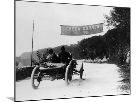 T Thornycroft in a Thornycroft Car in a Tt Race, 1908--Mounted Photographic Print