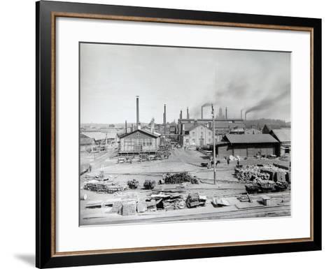 Lysva Iron Foundry, Russia, 1900s--Framed Art Print