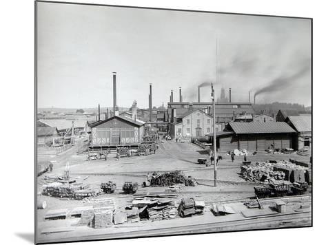 Lysva Iron Foundry, Russia, 1900s--Mounted Photographic Print