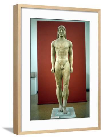 Kouros, C650-500 BC--Framed Art Print