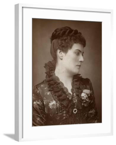 Sophie Eyre, British Actress, 1883--Framed Art Print