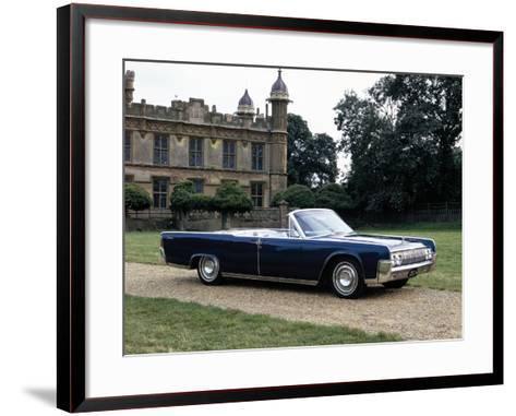 1964 Lincoln Continental--Framed Art Print