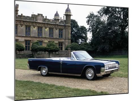 1964 Lincoln Continental--Mounted Photographic Print