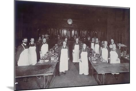 The Lord Mayor's Dinner at Guildhall, London, C1900--Mounted Photographic Print