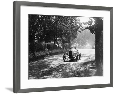 Sunbeam at the Isle of Man Tt Race, 1914--Framed Art Print