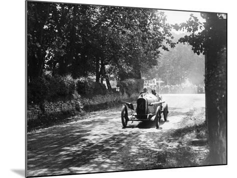 Sunbeam at the Isle of Man Tt Race, 1914--Mounted Photographic Print