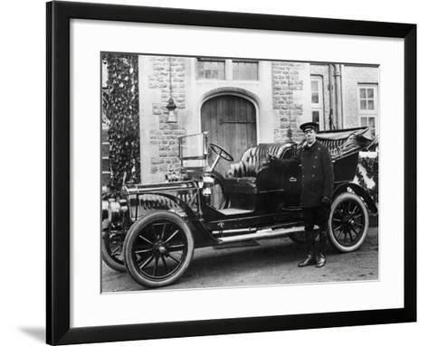 1908 De Dion Bouton Model--Framed Art Print