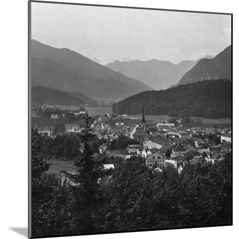 Bad Ischl, at the Foot of Hoher Dachstein, Salzkammergut, Austria, C1900s-Wurthle & Sons-Mounted Photographic Print