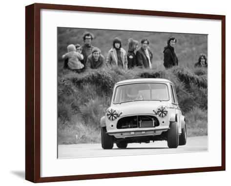 Gurston Down Hill Climb, Wiltshire, 12th May 1974--Framed Art Print