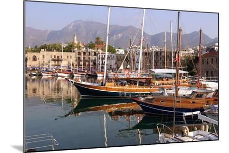 Harbour of Kyrenia (Girne), North Cyprus-Peter Thompson-Mounted Photographic Print